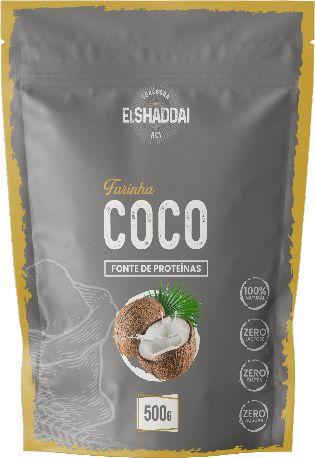 FARINHA DE COCO - 500G -PREÇO PROMOCIONAL BLACK FRIDAY