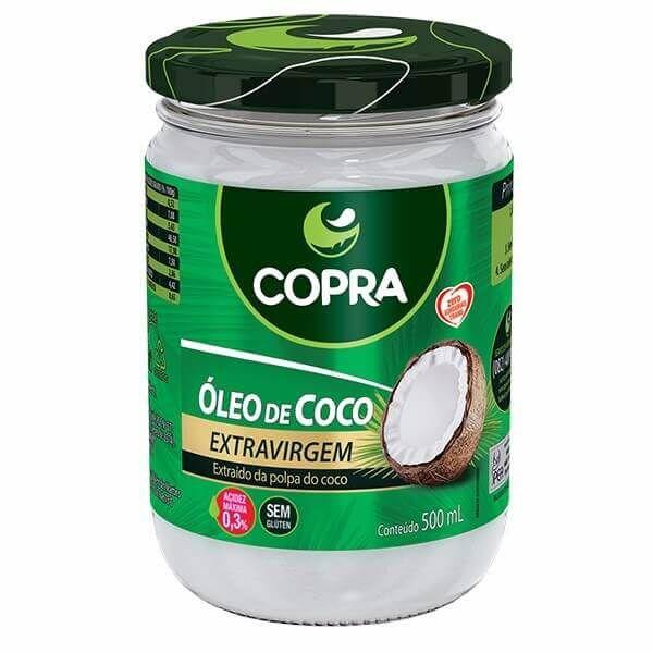 Óleo de coco - Copra extra virgem 500ML