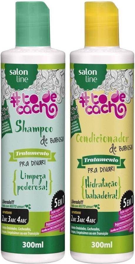 Shampoo e Condicionador Babosa – Tratamento para Divar ! - SALON LINE