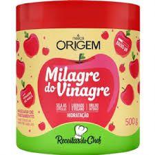 Mascara Milagre do Vinagre (Receitinhas do chef) - Nazca Origem