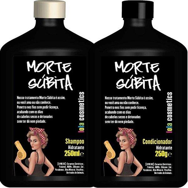 Morte Subita (Shampoo e condicionador) - Lola Cosmetics