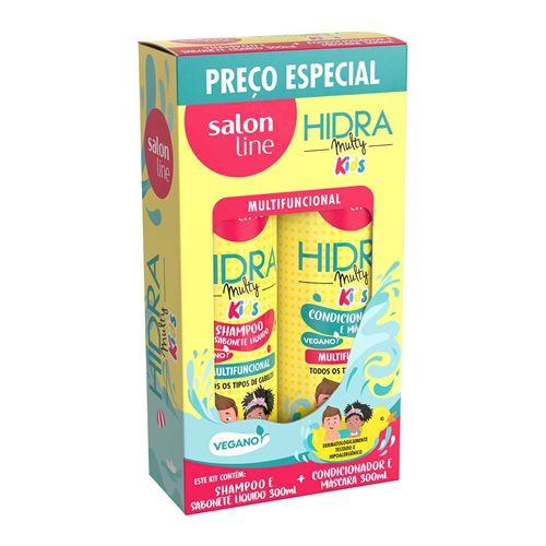Hidra Multy Kids (shampoo e condicionador) - Salon line