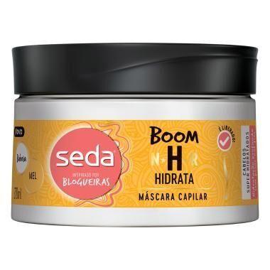 Máscara Capilar de Tratamento Seda Boom Hidrata