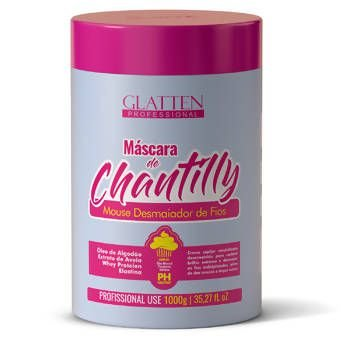 Máscara Chantilly 1kg Glatten