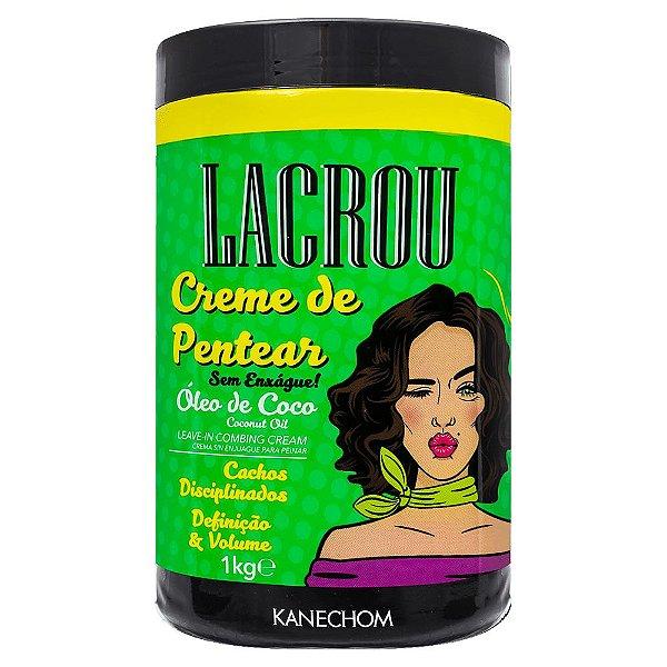 Kanechom Lacrou Cachos disciplinados óleo de coco - creme de pentear 1k