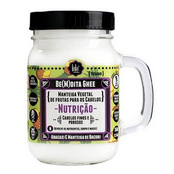 BEMDITA GHEE NUTRICAO ABACAXI - Lola Cosmetics 350g