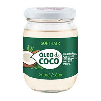 OLEO DE COCO EXTRA VIRGEM  SOFT HAIR 200ML