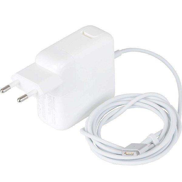 Fonte Carregador para Macbook MagSafe Macbook M2 - Tipo Quadrado