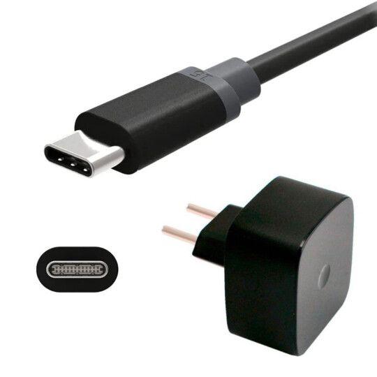 Carregador Turbo Power USB rápido de viagem 1m V8 e Tipo C inova