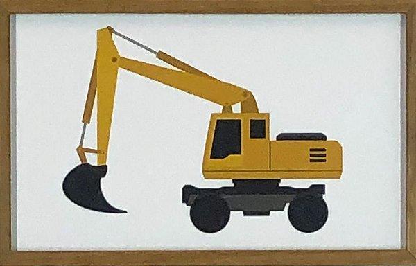 Escavadeira Amarela