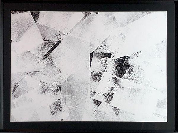 Abstrato Preto e Branco I