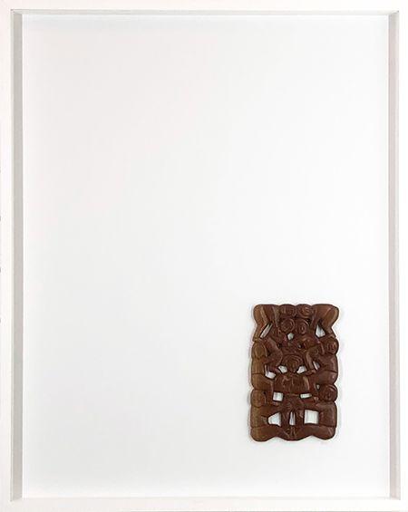 Abstrato Branco e Marrom