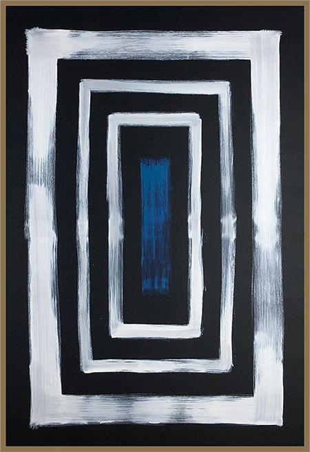 Abstrato Preto e Branco II
