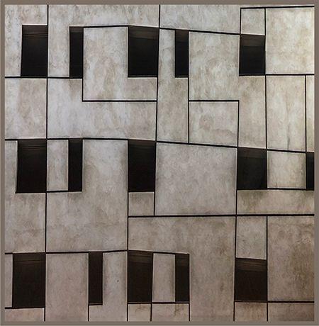 Quadrados desalinhados