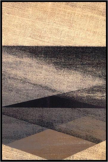 Abstrato Bege e Preto