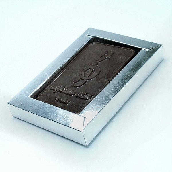 Caixa luxo + tablete personalizado em relevo