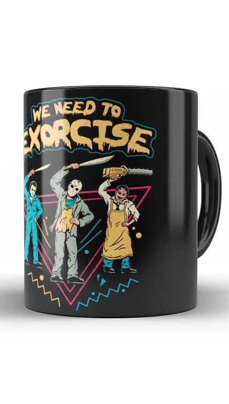 Caneca Geekz We Need to Exorcise - Loja Nerd e Geek - Presentes Criativos