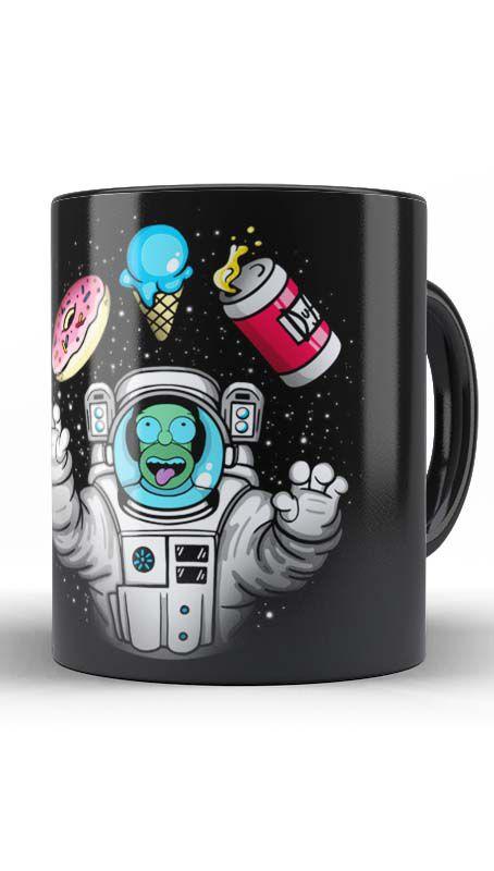 Caneca Geekz Homer Simpsons Space - Loja Nerd e Geek - Presentes Criativos
