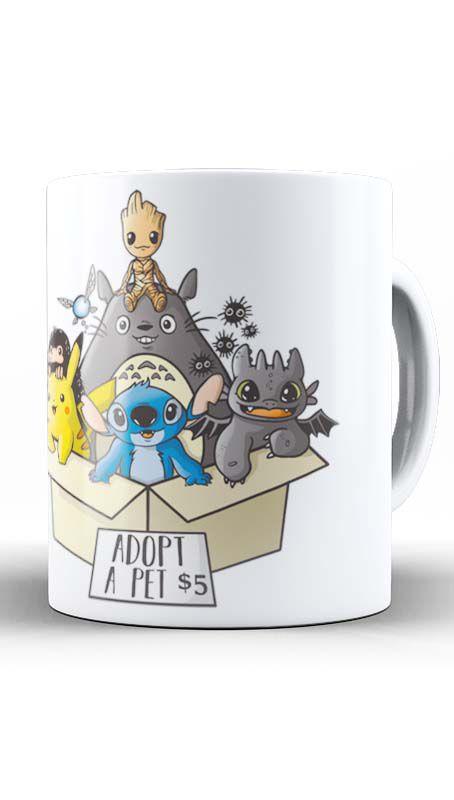 Caneca Geekz Tree -Totoro e sua Turma - Loja Nerd e Geek - Presentes Criativos