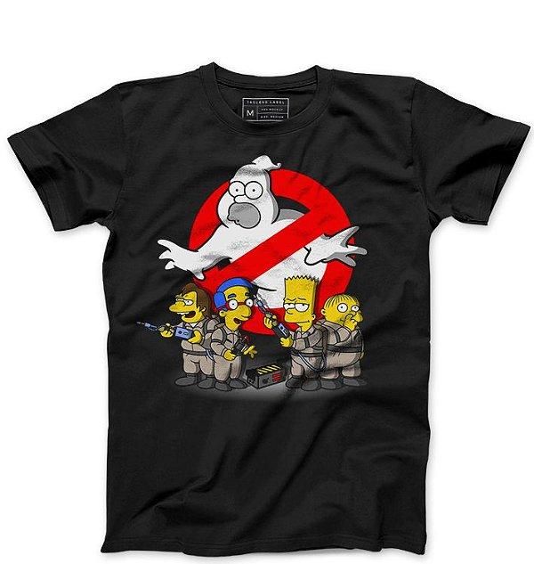 Camiseta Masculina Caças Fantasmas - Loja Nerd e Geek - Presentes Criativos