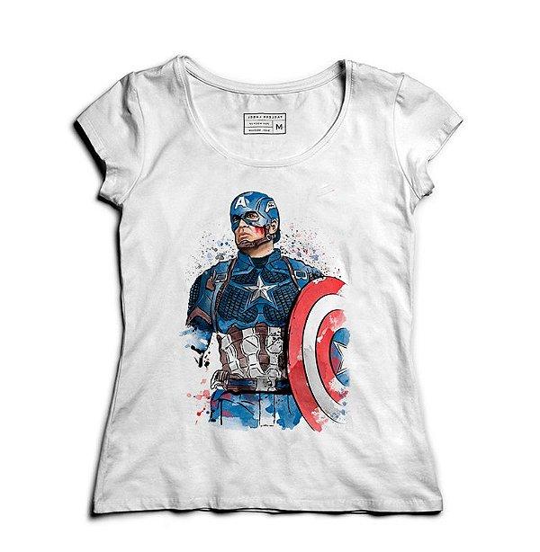 Camiseta Feminina Americano - Loja Nerd e Geek - Presentes Criativos