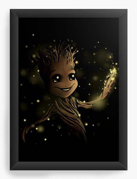 Quadro Decorativo A4 (33X24) Geekz Tree - Loja Nerd e Geek - Presentes Criativos