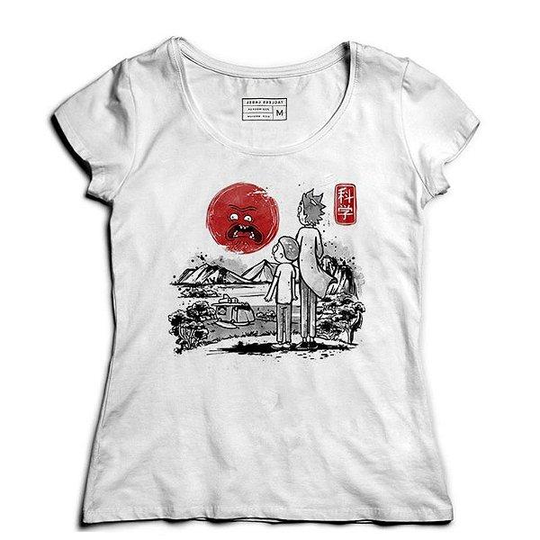 Camiseta Feminina Rick and Morty - Loja Nerd e Geek - Presentes Criativos