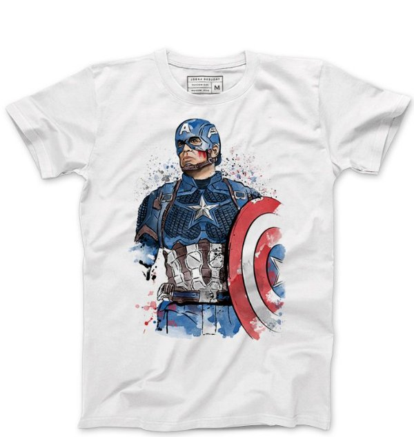 Camiseta Masculina Americano - Loja Nerd e Geek - Presentes Criativos