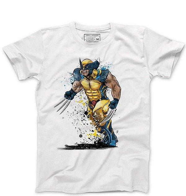 Camiseta Masculina Wolverine - Loja Nerd e Geek - Presentes Criativos