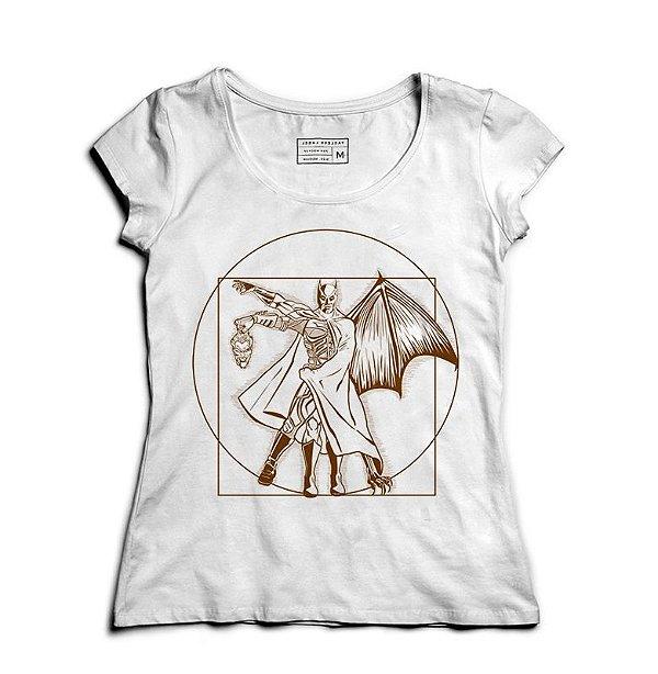 Camiseta Feminina Morcego - Loja Nerd e Geek - Presentes Criativos