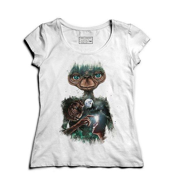 Camiseta Feminina ET O Extraterrestre - Loja Nerd e Geek - Presentes Criativos