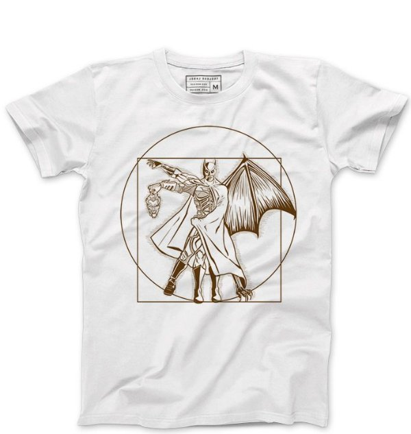 Camiseta Masculina Morcego - Loja Nerd e Geek - Presentes Criativos