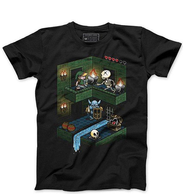 Camiseta Masculina The Legend of elda - Loja Nerd e Geek - Presentes Criativos