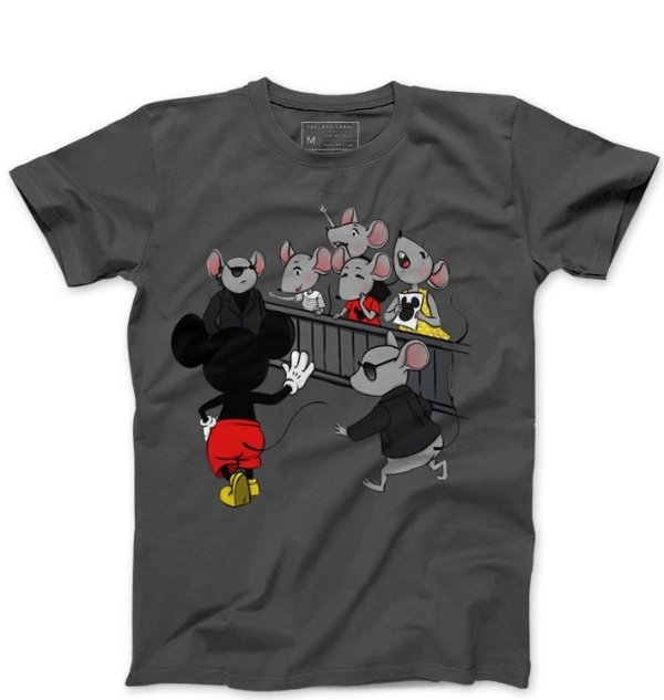 Camiseta Masculina Mickey Mouse - Loja Nerd e Geek - Presentes Criativos