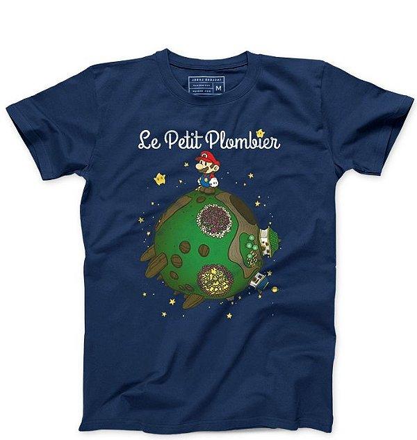 Camiseta Masculina Super Plumber - La Petit - Loja Nerd e Geek - Presentes Criativos