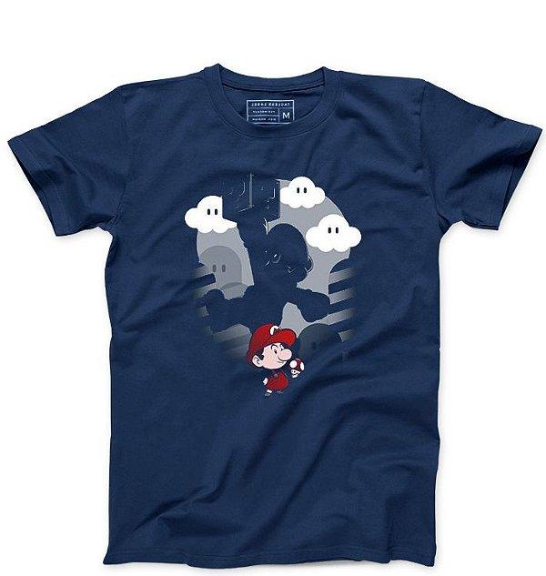Camiseta Masculina Super Plumber - Loja Nerd e Geek - Presentes Criativos