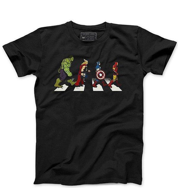 Camiseta Masculina The Avengers - Loja Nerd e Geek - Presentes Criativos