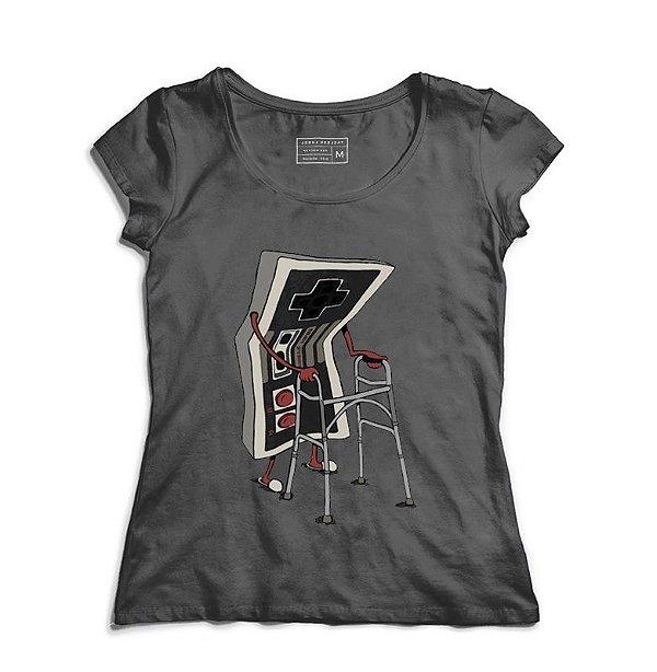 Camiseta Feminina Old - Loja Nerd e Geek - Presentes Criativos