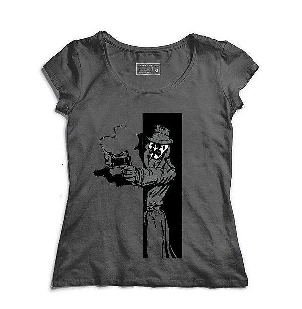 Camiseta Feminina Vigilante - Loja Nerd e Geek - Presentes Criativos