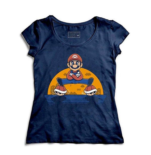 Camiseta Feminina Super Plumber Split   - Loja Nerd e Geek - Presentes Criativos