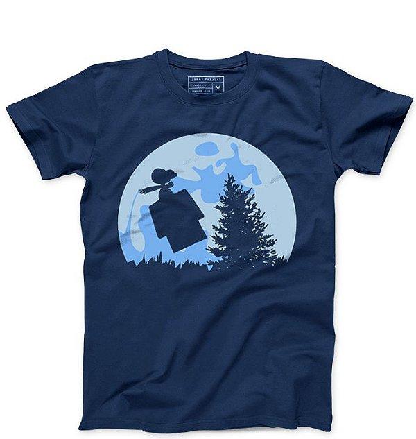 Camiseta Masculina Snoopy   - Loja Nerd e Geek - Presentes Criativos