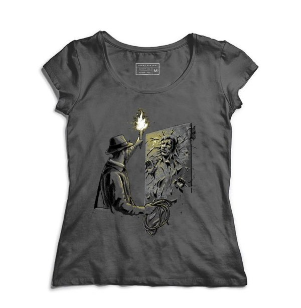 Camiseta Feminina Arqueologo - Loja Nerd e Geek - Presentes Criativos