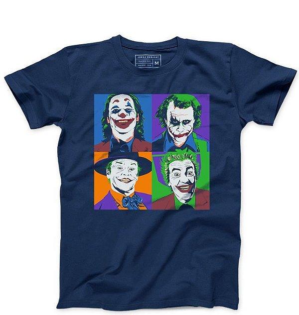 Camiseta Masculina Coringa - Loja Nerd e Geek - Presentes Criativos