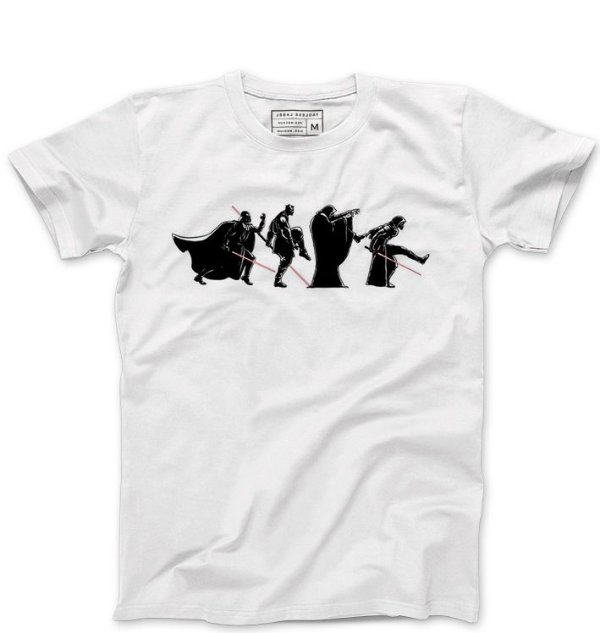 Camiseta Masculina Space Wars: Road - Loja Nerd e Geek - Presentes Criativos