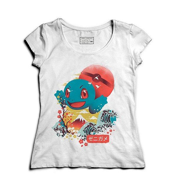 Camiseta Feminina Lets Go - Loja Nerd e Geek - Presentes Criativos