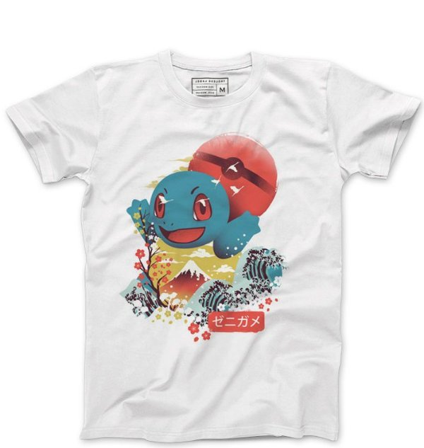 Camiseta Masculina Lets Go  - Loja Nerd e Geek - Presentes Criativos