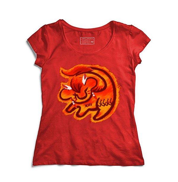 Camiseta Feminina Little Lion - Loja Nerd e Geek - Presentes Criativos