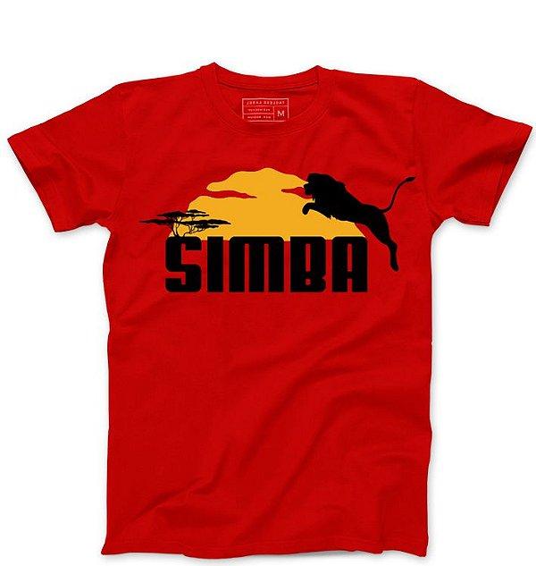 Camiseta Masculina Rei da Selva  - Loja Nerd e Geek - Presentes Criativos