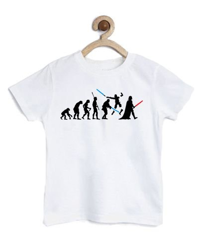 Camiseta Infantil Dark Evolution - Loja Nerd e Geek - Presentes Criativos