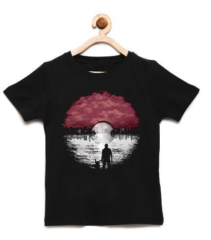 Camiseta Infantil Esfera - Loja Nerd e Geek - Presentes Criativos